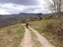 Il sentiero sul crinale