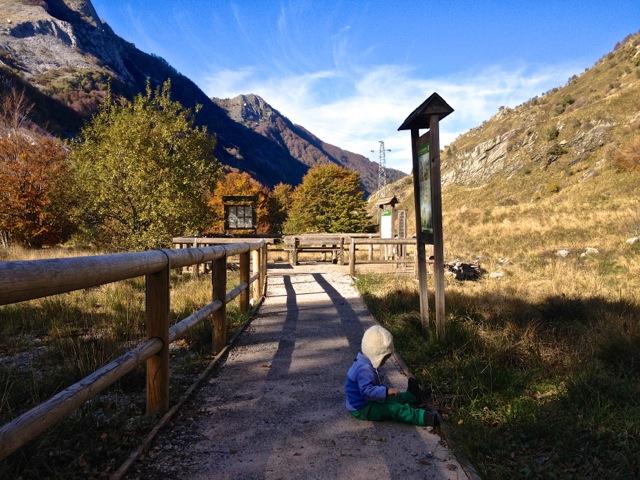 Il sentiero accessibile delle Alpi Apuane