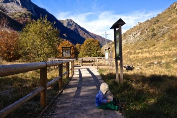 Un sentiero per tutti in Val Serenaia in Apuane (dove atterrano gli UFO!)