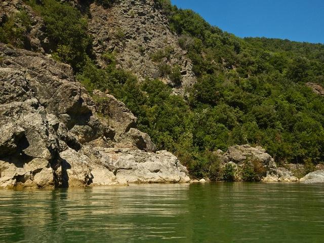 il fiume Cecina
