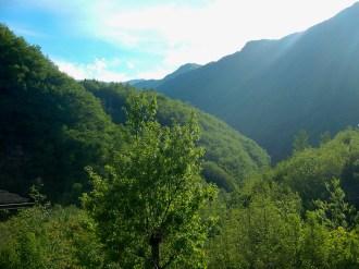 La bellissima valle di Fellicarolo