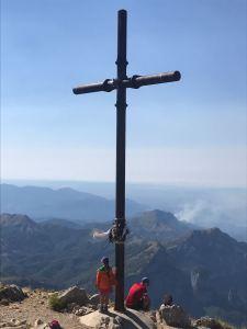 La croce della Pania