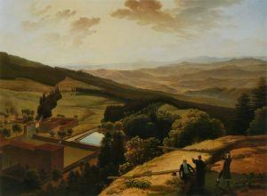 Il Paradisino visto dal pittore dell'ottocento Louis Gauffier