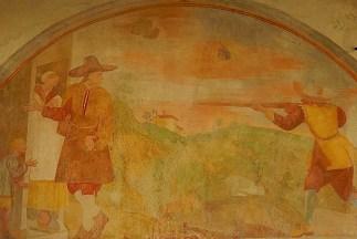 Santa Maria del Sasso: scena di banditi