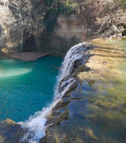 La cascata del Diborrato