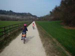 Sulla ciclabile Colle Val d'Elsa - Poggibonsi