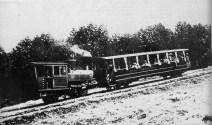 Foto d'epoca: il treno Sant'Ellero-Vallombrosa
