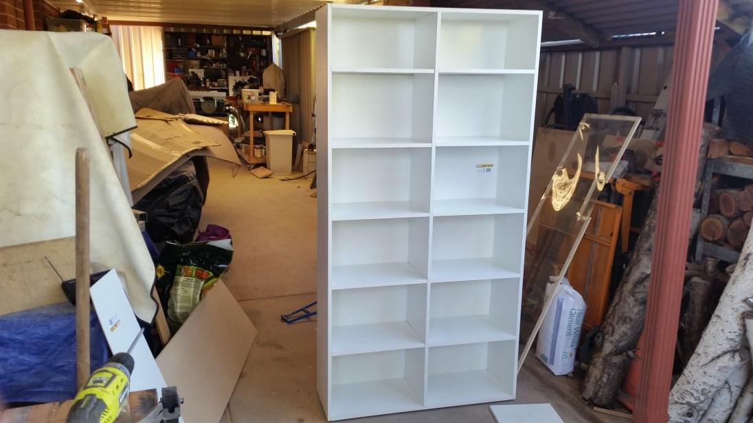 Finished Storage Unit