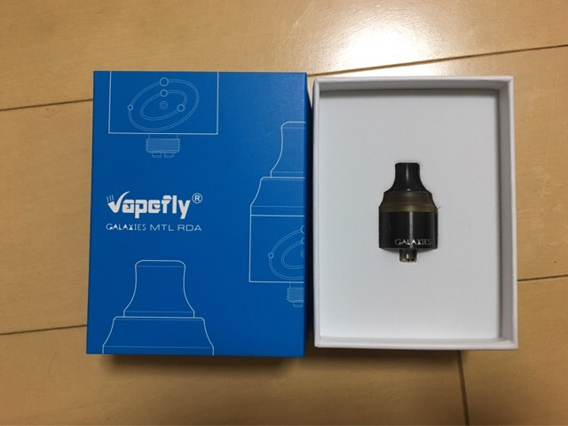 Vapefly Galaxies MTL RDA レビュー