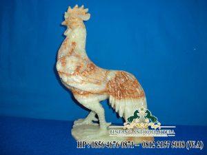 Patung Ayam Marmer