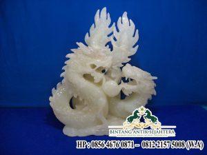 Jual Patung Naga Marmer