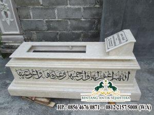 Makam Marmer Murah, kijing kuburan marmer, jual makam marmer salatiga