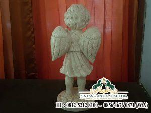 Patung Malaikat Kuburan Marmer