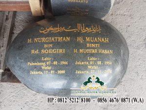 Nisan Batu Kali