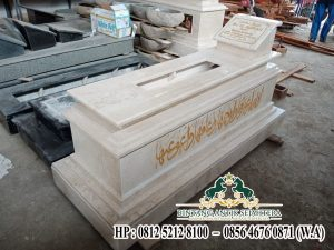 Makam Marmer Model Uje, Pengrajin Kijing Makam