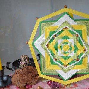 Mandala Sikuli Ojo de Dios Ostara ©Sentulia (2)