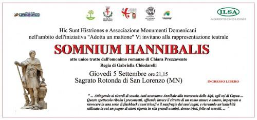 somnium hannibalis, chiara prezzavento, rotonda di san lorenzo, mantova