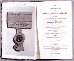 shakespeare, william henry ireland, edward malone, john kemble, richard sheridan