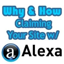 Claim Your Site with Alexa