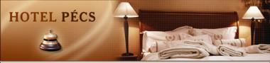 A Hotel Pécs honlap fejléce