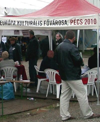 Mészáros András, az Európa Kulturális Fővárosa, Pécs 2010 direktora