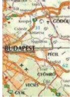 Térkép: Budapest. Melyik út megyen itt Budára?