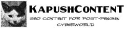 KapushContenT-SEO Content for Post-Penguin Cyberworld