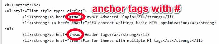 list-with-anchor-tags
