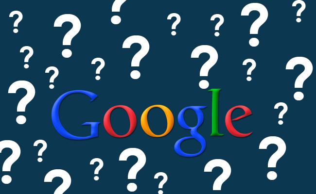 google problem