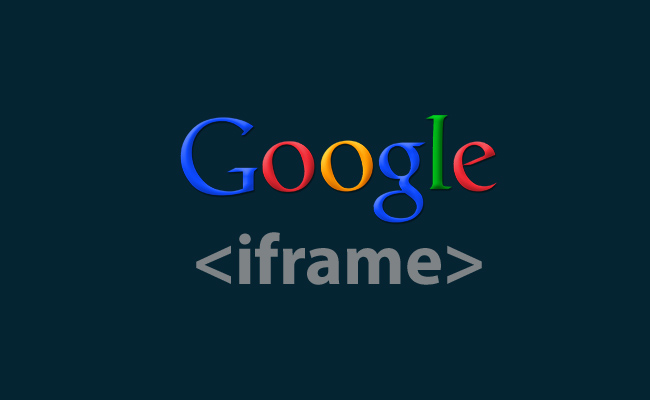 articleimage187Making iFrame Friendship with Google