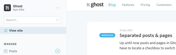 Ghost CMS