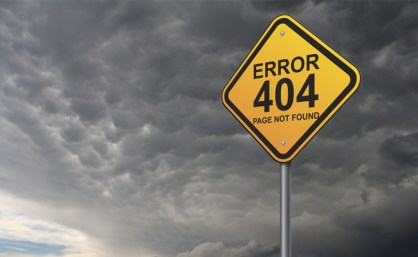 articleimage1398 Finding a 404 Error