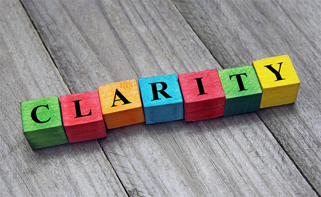 articleimage1651 Focus on clarity