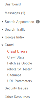 Crawl Errors GWT