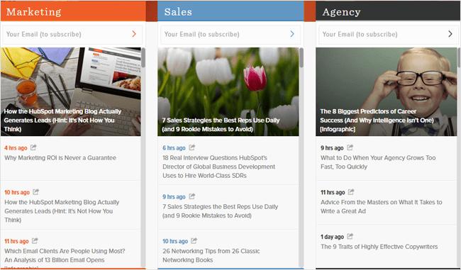 Hubspot articles