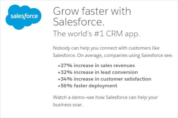 Grow Faster with Salesforce