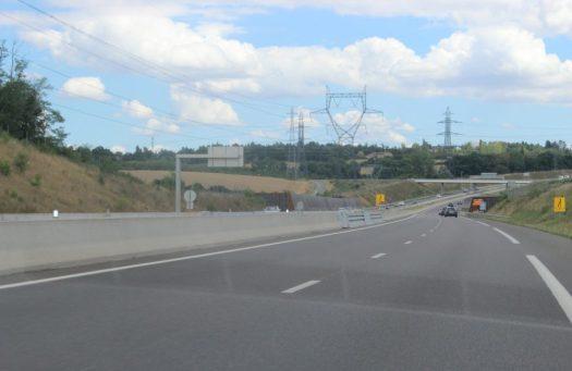 Distance de sécurité sur autoroute