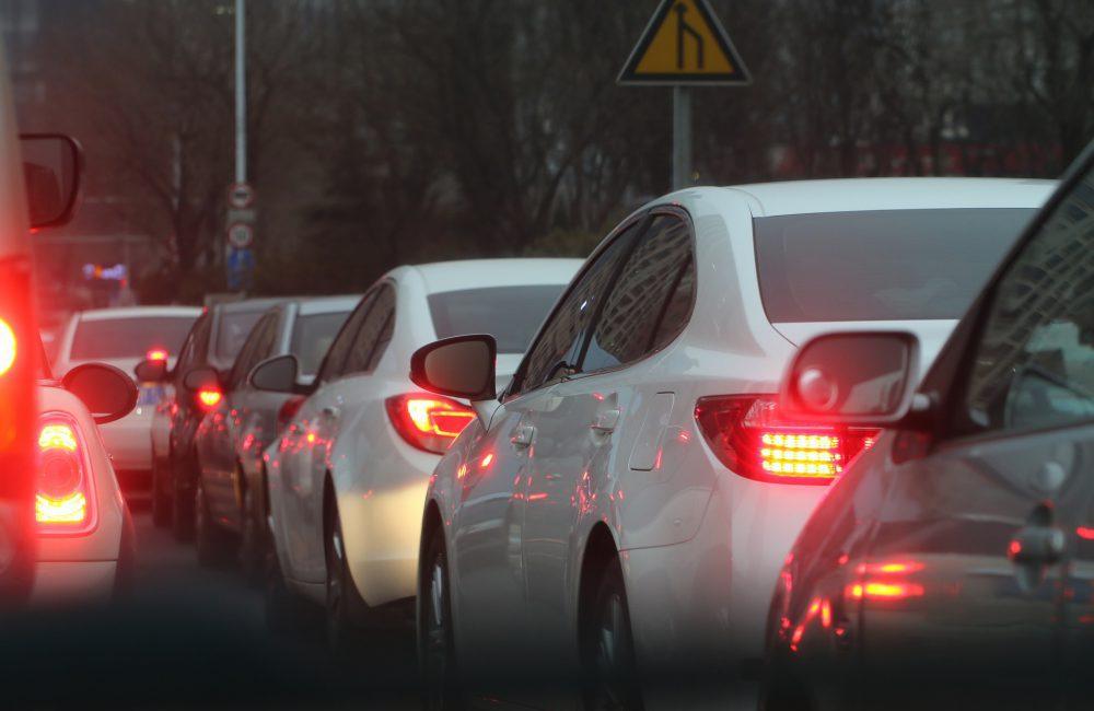 Conduire en circulation dense