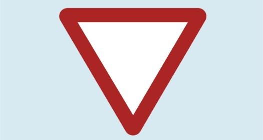 panneau de danger cédez le passage