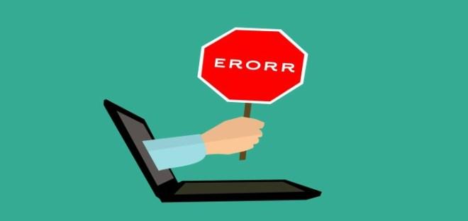 error 404 en la web publicada