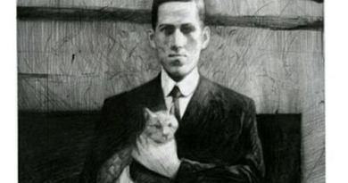 HP Lovecraft Cat