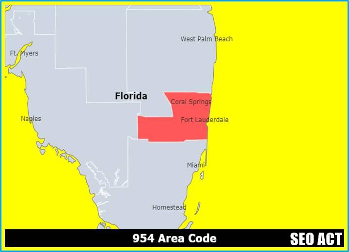 954 Area Code