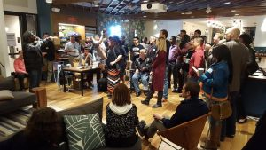 SaulPaul Performing at WeWork