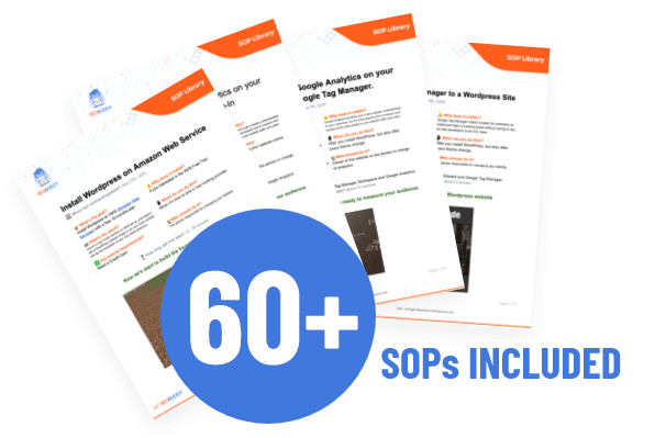 SEO Buddy SOP Collection