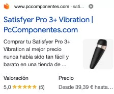 Example of PC AMP components for satisfyer pro 3.