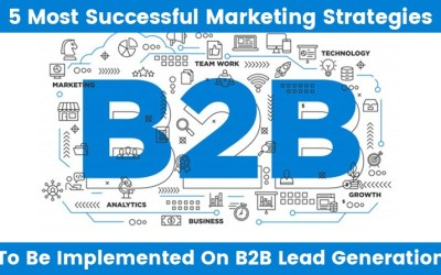 5 Most Successful Marketing Strategies to be Implemented on B2B Lead Generation