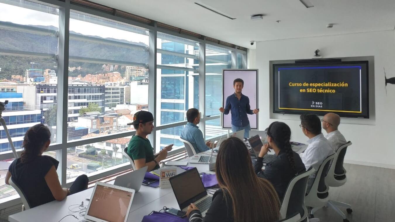 Curso de SEO técnico en Bogotá