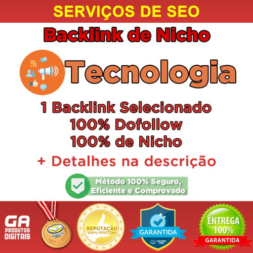 Backlink Nicho Tecnologia Dofollow Guest Post Seo