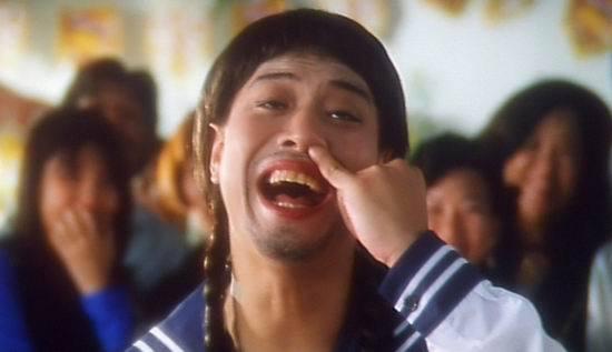 hk actor picking nose