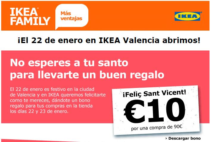 El email de felicitación de IKEA